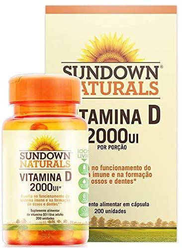 Vitamina D 2000UI – Sundown