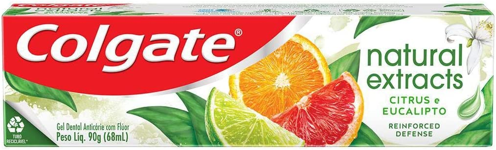 Creme Dental Colgate Natural Extracts