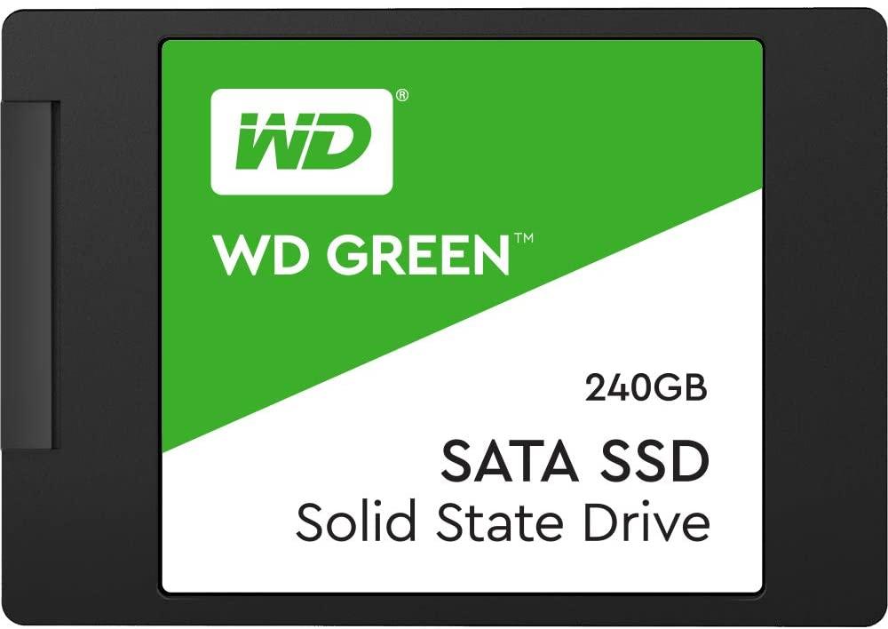 SSD Wd Green 2.5´ 240Gb SATA